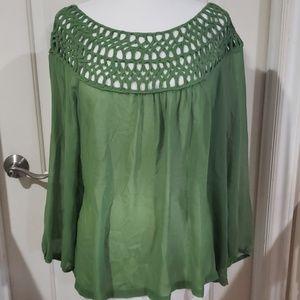 Umgee,  blouse green